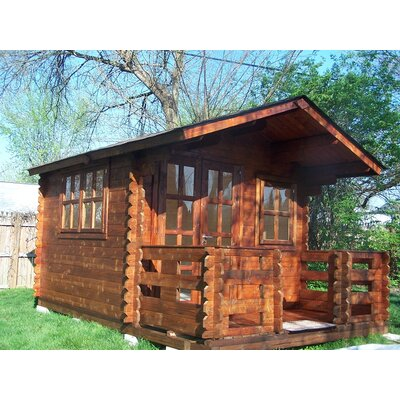 SolidBuild Wales Solid Wood Garden Shed