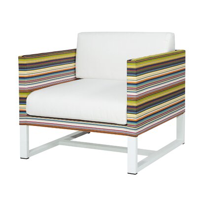 Mamagreen Stripe 1-Seater Sofa with Cushion
