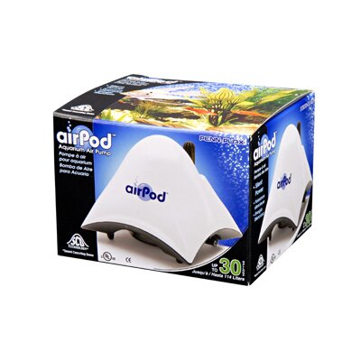 Air-Pod Aquarium up to 30 Gallons Air Pump