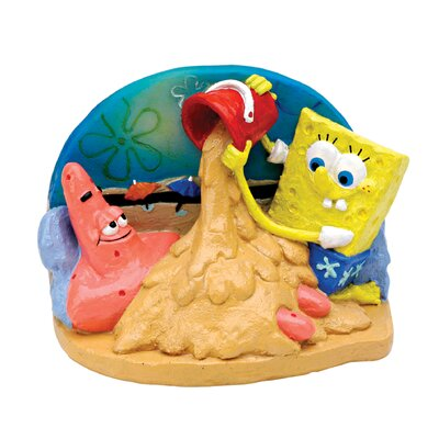 Penn Plax Nickelodeon SpongeBob SquarePants and Patrick in the Sand Ornament