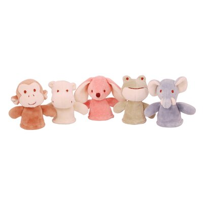 Miyim Nursery 5 Piece Finger Puppet Set
