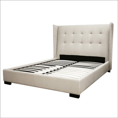 Wholesale Interiors Baxton Studio Favela Queen Platform Bed