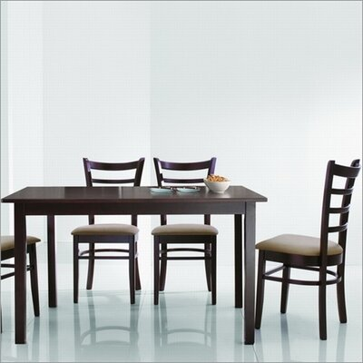 Wholesale Interiors Baxton Studio Keitaro 5 Piece Dining Set