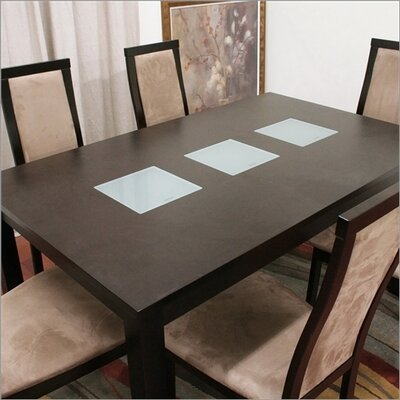 Wholesale Interiors Baxton Studio Pollard 7 Piece Dining Set