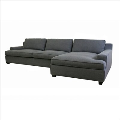 Wholesale Interiors Baxton Studio Kaspar Cotton Sectional