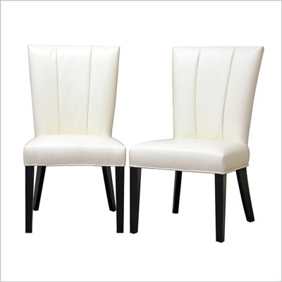 Wholesale Interiors Baxton Studio Janvier Parsons Chair (Set of 2)
