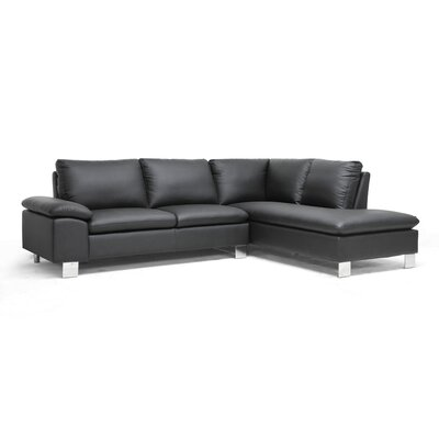 Baxton Studio Toria Sectional