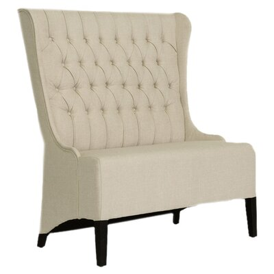 Wholesale Interiors Baxton Studio Vincent Loveseat Bench