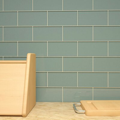 "Giorbello Subway 3"" x 6"" Tile in Slate"