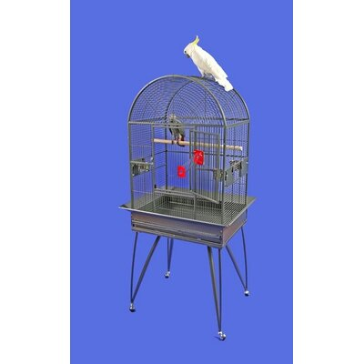 Small Dome Top Bird Cage with Removable Base