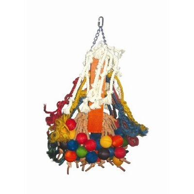 A&E Cage Co. Giant Cluster of Hanging Wood Bells