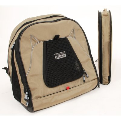 PetEgo Pet Back-Pack At Work Travel System in Tan