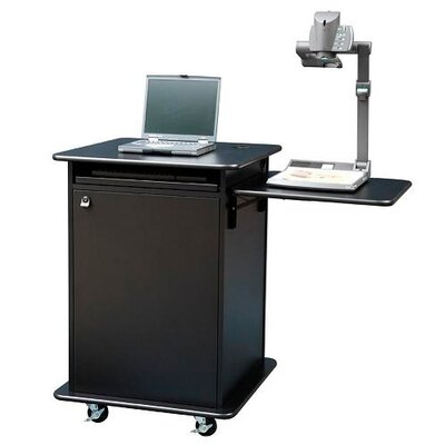 Sound Craft Educator Multimedia Cart in Black
