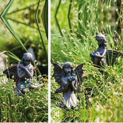 Fairy Gardens Mini Statue (Set of 3)