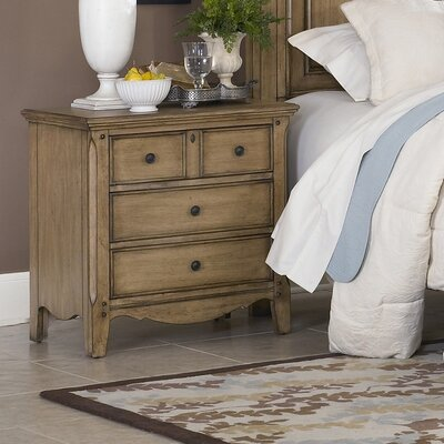 Aberdeen 4 Drawer Nightstand