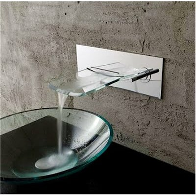 Kokols Bath Glass Waterfall Faucet