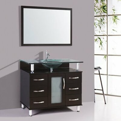 Kokols 32 Single Bathroom Vanity Set With Mirror Reviews Wayfair