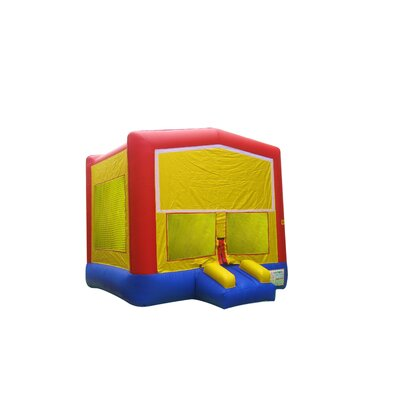 JumpOrange Rainbow Commercial Grade Inflatable Bouncy House