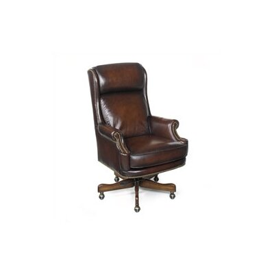 Seven Seas Seating Maximilian High-Back Leather Executive Chair