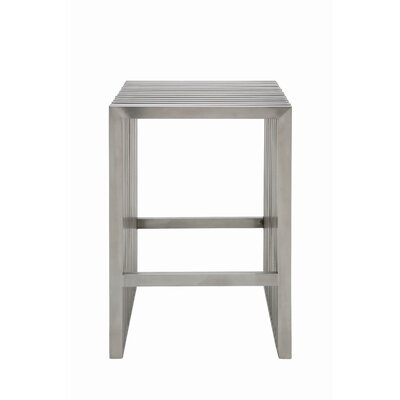 Nuevo Amici Counter Stool in Silver