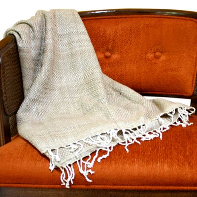 Sustainable Threads Peace Organic Silk Throw