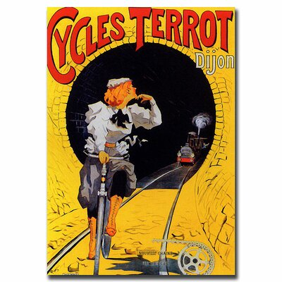 Cycles Terrot ,Traditional Canvas Art - 32