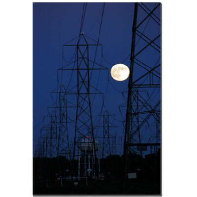 Trademark Art Full Moon Power by Kurt Shaffer, Canvas Art - 24