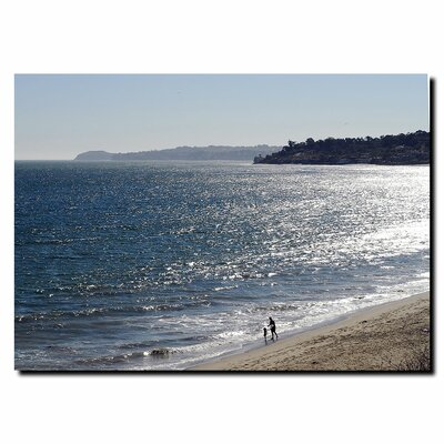 "Trademark Fine Art Malibu by Kurt Shaffer, Canvas Art - 35"" x 47"""