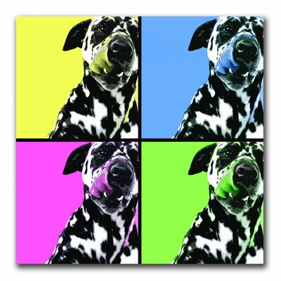 "Trademark Fine Art Dalmatians by Gifty Idea Greeting Cards And Such, Canvas Art - 24"" x 24"""