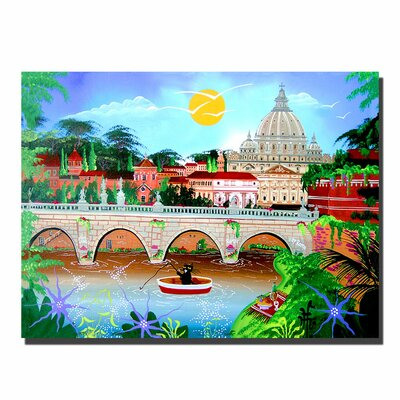 "Trademark Fine Art Roma by Herbert Hofer, Canvas Art - 24"" x 32"""