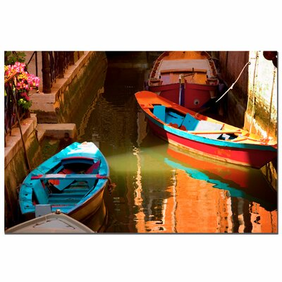 "Trademark Fine Art Venetian Color by Aiana, Canvas Art - 16"" x 24"""
