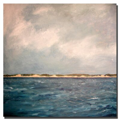 Dunes of Lake Michigan with Big Sky by Michelle Calkins, Canvas Art - 24