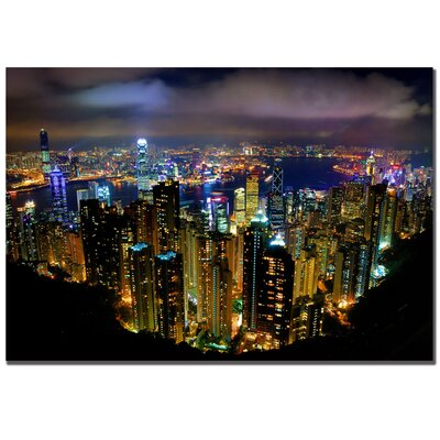 Trademark Fine Art Hong Kong, China by Yakov Agani Canvas Art