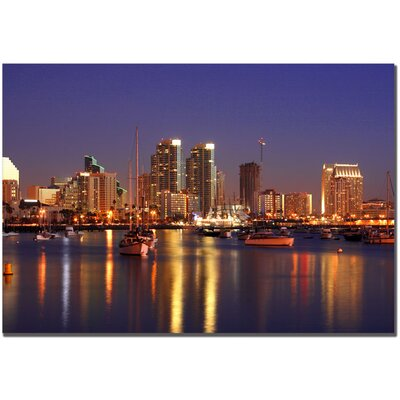 Trademark Art San Deigo, CA by Yakov Agani Canvas Art