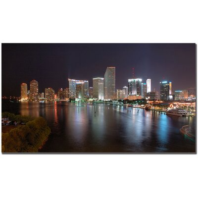 Trademark Art Miami, Fl by Yakov Agani Canvas Art