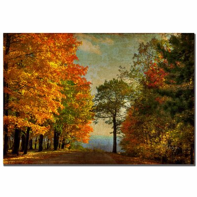 'Autumn on the Mountain' Canvas Art