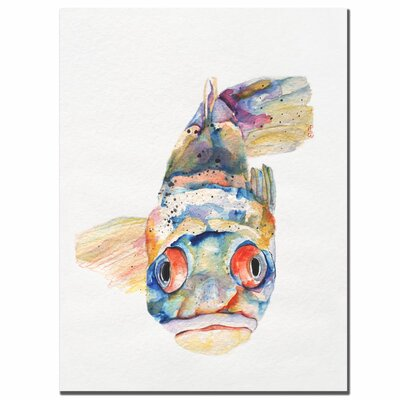 'Blue Fish' Canvas Art