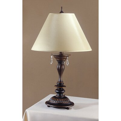 Laura Ashley Home Beverly Table Lamp with Classic Shade