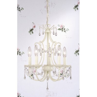 Laura Ashley Home Chella 5 Light Chandelier