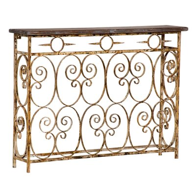 Wildon Home ® Balcony Bannister Console Table