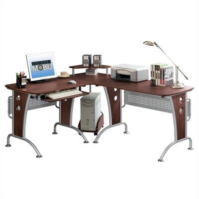 Techni Mobili Space Saver Computer L Desk