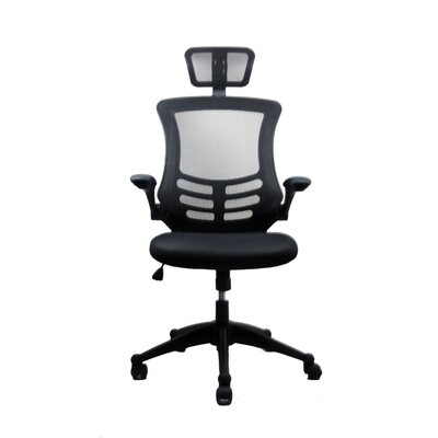 High-Back Executive Chair with Headrest