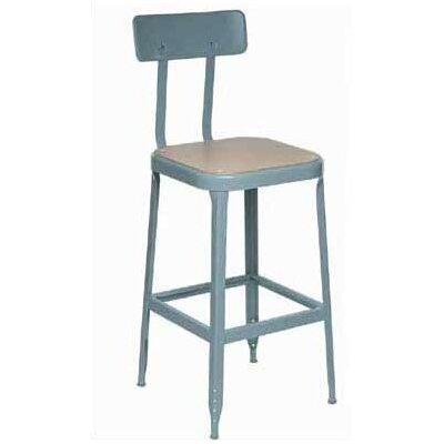 Lyon Workspace Products Stool with Steel Glides