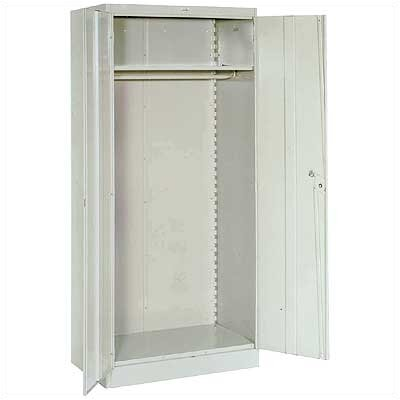 "Lyon Workspace Products 1000 Series 36"" Wide Wardrobe Cabinet:  78"" H x 36"" W x 18"" D"