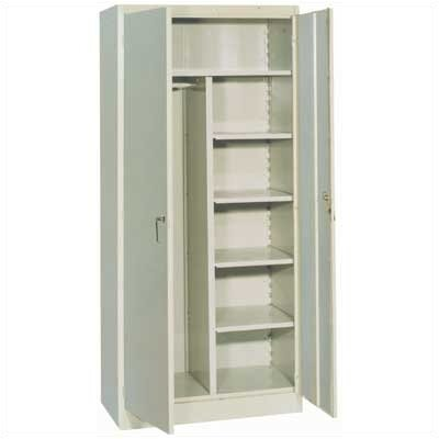 Lyon Workspace Products 1000 Series 36&quot; Wide Combination Cabinet:  78&quot; H x 36&quot; W x 21&quot; D