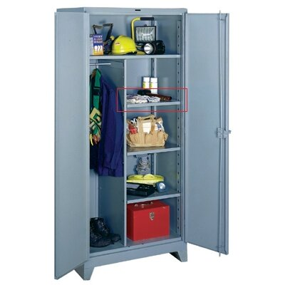 "Lyon Workspace Products Extra Half Shelf Set for Combination Cabinet 36"" W x 21"" D"