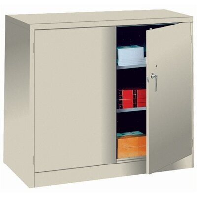 Lyon Workspace Products 1000 Series 48&quot; Wide Counter High Cabinet:  42&quot; H x 48&quot; W x 24&quot; D