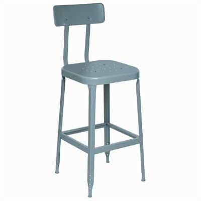Lyon Workspace Products Stool with Steel Back