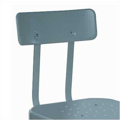 Lyon Workspace Products Adjustable Steel Back for Stool