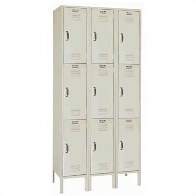 Lyon Workspace Products Triple Tier Locker - 3 Sections (Unassembled)